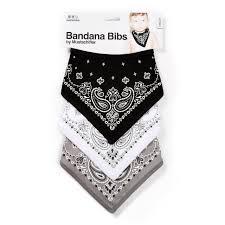 halloween baby bibs bandana bibs black white and grey