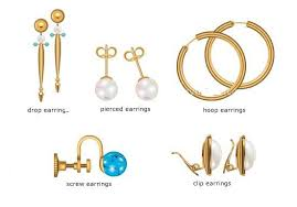 different types of earrings types of earrings images search