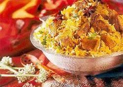 Biryani Decoration Biryani Chicken Biryani Khanapakana Com