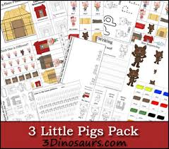 pigs printables crafts