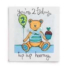 2 hip hip hooray handmade boys 2nd birthday card 2 60 a great