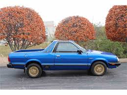 1978 subaru brat for sale subaru launches celebration of 50th anniversary in america