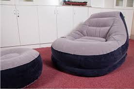 Inflatable Chair And Ottoman by Living Room With Shag Rug And Inflatable Chairs Modern And