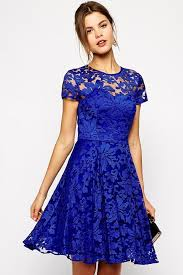 blue lace dress withchic royal blue lace overlay skater dress withchic