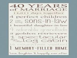 anniversary ideas for parents unique 40th wedding anniversary gift ideas for parents archives