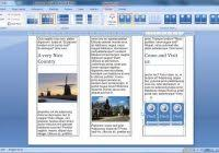 brochure in word 2013 high quality template