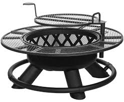 Firepit Grille King Ranch Pit With Grilling Grate Srfp96 By Shinerich