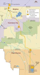 Brighton Colorado Map by Prairie Waters City Of Aurora