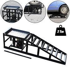 garage car ramp garage design ideas tech7 vehicle car ramp lift 2 ton hydraulic jack garage heavy duty