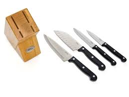 ginsu kitchen knives ginsu knives 5 essential series prep set with storage block