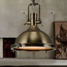 Antique Bronze Pendant Light Nautical Pendant Light In Antique Bronze With Frosted Diffuser