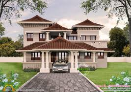 beautiful sloping roof house plan kerala home design and floor plans