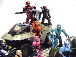 the practices and pastimes of a trivial man mega bloks red vs blue