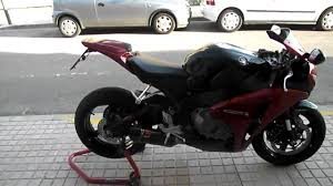 honda cbr 650 2012 honda cbr 1000 rr sound akrapovic youtube