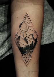 reference resume minimalist tattoos pinterest words 5th geometric style mountain tattoo by tyleratd whistler canada