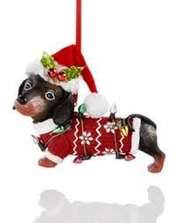 savings on dachshund with santa hat
