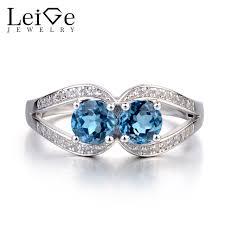 london blue topaz engagement ring leige jewelry london blue topaz engagement ring two ring