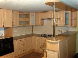 kitchen breakfast bar ideas kitchen simple beige kitchen with minimalist island also corner