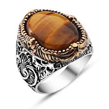 tiger eye jewelry its properties tiger s eye silver ring boutique ottoman jewelry store