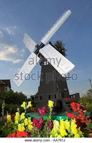 windmill garden ornament uk stock photos windmill garden