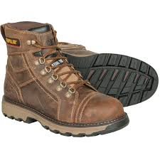 womens steel toe work boots near me cat 6 h granger leather work boots gempler s