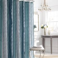 Stall Size Shower Curtains Cozy Extra Long Fabric Shower Curtain Hookless Shower Curtain