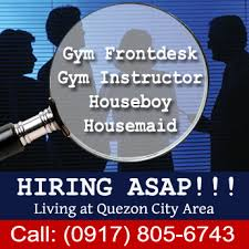 Gyms Hiring Front Desk Gym Frontdesk Gym Instructor Houseboy Housemaid For Sale