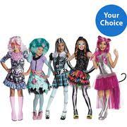 Monster Halloween Costumes Girls Monster Skelita Child Halloween Costume Skirt Iyana