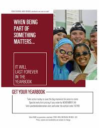 order high school yearbook announcements detail page