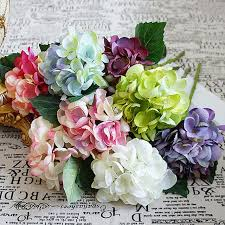 1 bundle artificial flowers cheap for home wedding new year