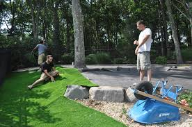 synthetic turf dog run by gappsi outdoors deck and patio natural