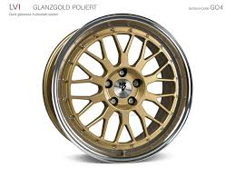 mbdesign lv1 8 5x20 5x108 et45 75 0 5e gold glänzend poliert - Mb Design Lv1
