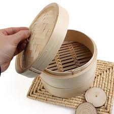 pasta basket 2 tier bamboo steamer dim sum basket rice pasta cooker us 11 15