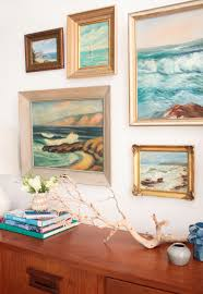 How To Decorate A Credenza 1 Credenza 4 Ways Midcentury Coastal And A Vote Emily Henderson