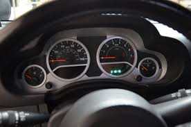 jeep wrangler speedometer 2010 jeep wrangler unlimited sport stock r345b for sale near