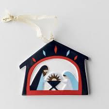 porcelain manger ornament to god dayspring