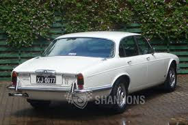 sold jaguar xj6 series ii saloon auctions lot 11 shannons