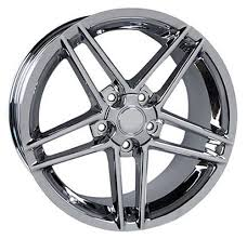 chrome corvette wheels rims fit chevrolet corvette c6 z06 style 19x10