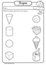3d shapes kindergarten worksheets solid 3d shapes worksheets3d