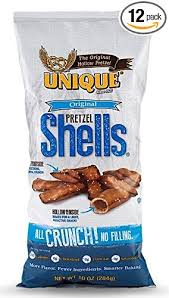 unique pretzel shells where to buy unique pretzels original pretzel shells 10 ounce 12 bags