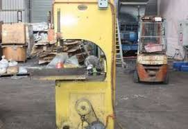 Second Hand Woodworking Machinery South Australia by Second 2nd Hand Used Horizontal Band Saw Adelaide South