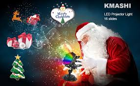 kmashi led decorations light 16 slides with