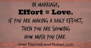 Love Marriage Quotes Marriage Quote Married And Effort U003d Love