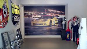 hendrick wall mural home garage signergy hendrick garage wall mural