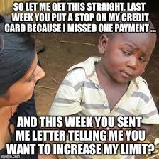 Credit Card Meme - travel reward credit cards the internet otaku