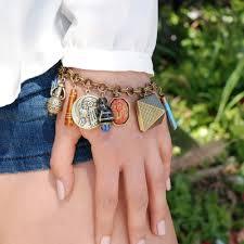 fashion charm bracelet images King tut 39 s ancient egyptian charm bracelet pharaoh bracelet jpg