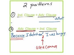 adverb clauses 1 grammar clauses adverbs esl english showme