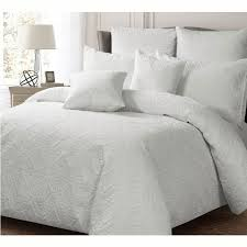 georges ashton white quilt cover set