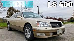 lexus ls400 1997 1999 lexus ls 400 ucf20 testdrive spotlight youtube