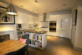 innovative subway tiles in kitchen with white connaught tiles